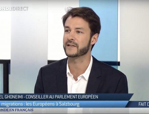 TV5 Monde – Europe et crise migratoire: qu'attendre du sommet européen de Salzbourg?