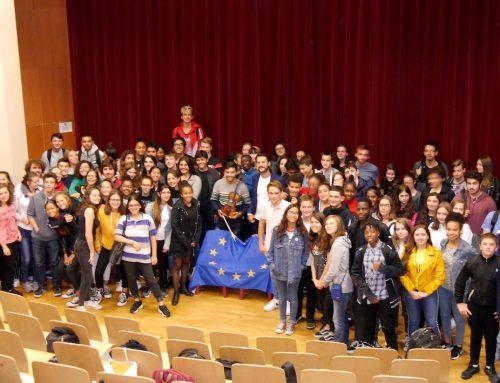 Pontoise parle immigration et Europe avec Syrians Got Talent