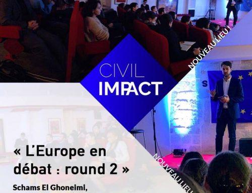 Débattre de l'Europe: formation pour Civil Impact