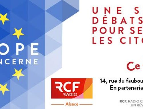 Interview sur radio RCF Alsace