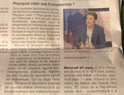 Ouest-France Normandie: Pourquoi voter aux européennes?
