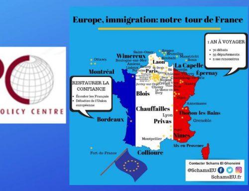 Débat Carnegie Europe et EPC : Bruxelles s'intéresse à mon tour de France!