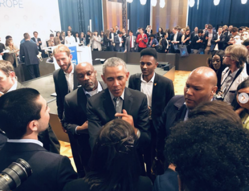 Débat avec Obama à Berlin, sur l'engagement