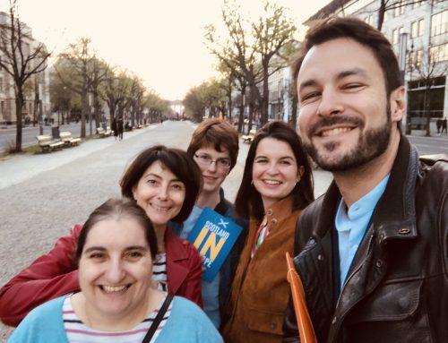 Échanges au Einstein Café avec En Marche! à Berlin