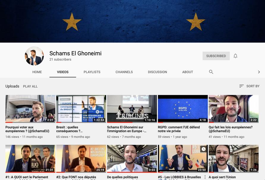 L'Europe on en reparle en 2024? (ma mini chaîne Youtube) 🇪🇺✌️
