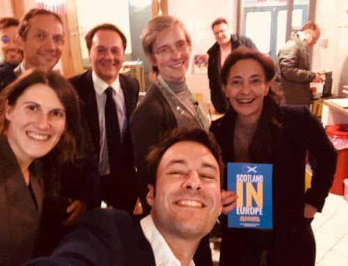 S'engager sur le terrain pour l'Europe – Débat Brexit à Ixelles
